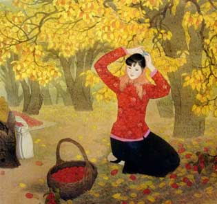 Chinese Painting: Dates in October